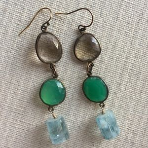 Meredith Jackson  |  gorgeous tiered earrings